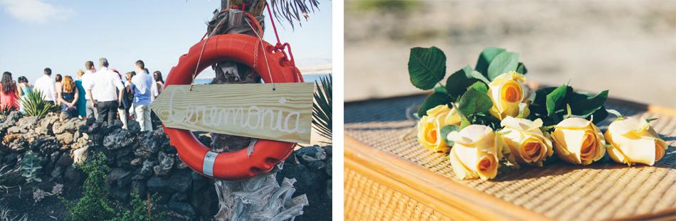 fotografia boda canarias lanzarote playa