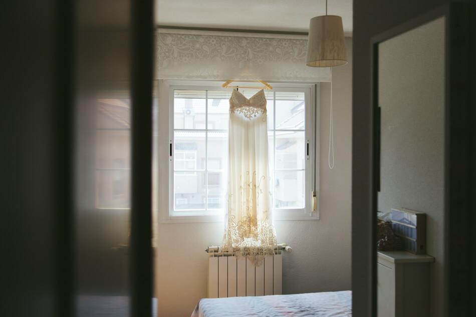 fotografia vestido boda barbara madrid