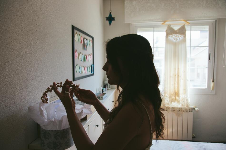 fotografia boda barbara madrid contraluz
