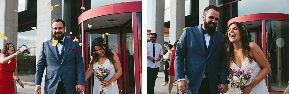 fotografia boda mario y barbara madrid ceremonia