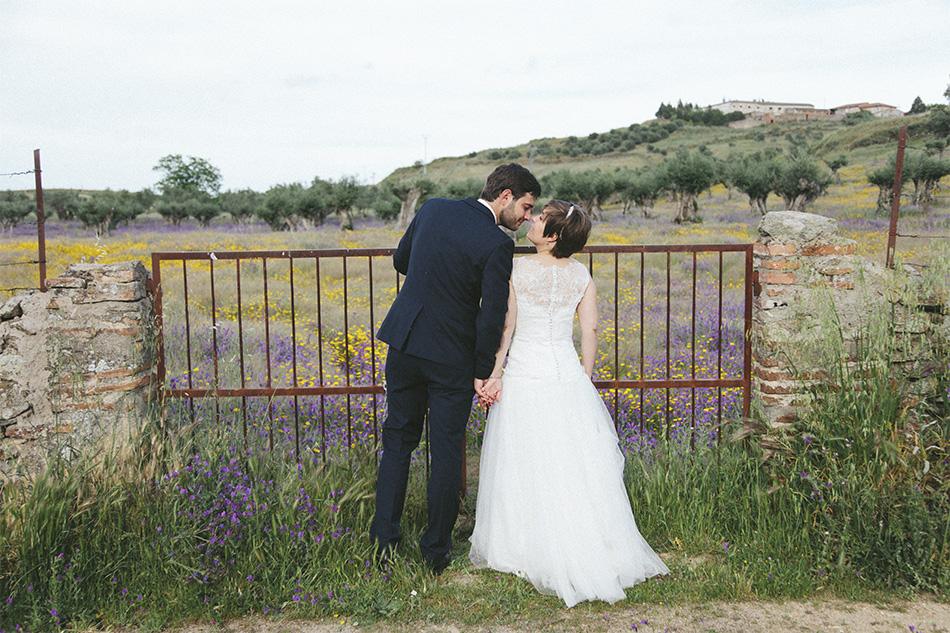 fotografias boda castillo Oropesa Toledo